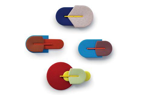 Beetle acoustic panels by Sancal