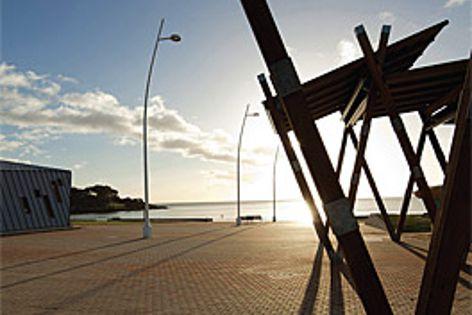 Adbri Masonry pavers were used at the Devonport Surf Life Saving Club in Tasmania.