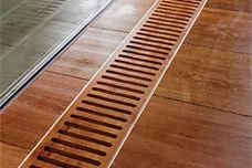 Trench convectors by H20 Heating