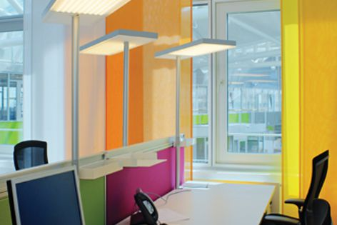 Nimbus LED lighting at Unilever headquarters