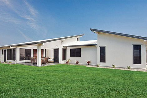 The InsulLiving home in Burpengary, Qld uses Bondor's InsulWall and SolarSpan insulated products.