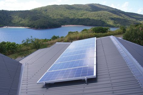 A BP Solar Energizer Kit can reduce domestic greenhouse gas emissions.