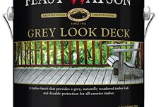 Grey Look Deck finish by Feast Watson
