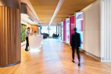 Timber workplace surfaces by Havwoods