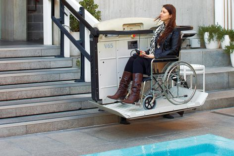The Easy Living range of platform lifts allows projects to comply with accessibility standards.