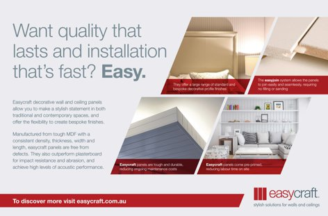 Decorative wall and ceiling panels by Easycraft