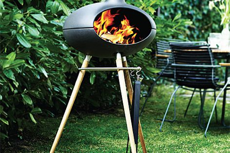 Morsø Grill Forno is made from a solid enamelled cast iron.