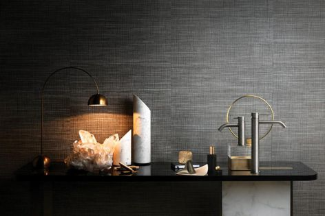 Gessi's 316 range features classical shapes and textured patterns.