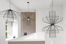 Ligne Roset Parachute light from Domo