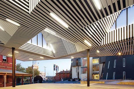Annexe, Art Gallery of Ballarat by Searl x Waldron Architecture. Photograph: John Gollings.