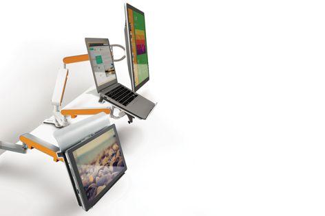 Zbridge laptop/tablet arm by Zgonic