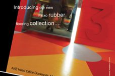 Flexo rubber flooring